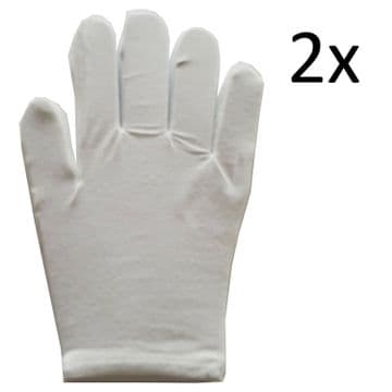 1 pair x MOISTURISING GLOVES hand finger glove dry flaking skin therapy comfort